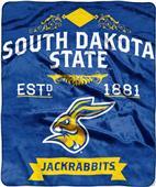 Northwest South Dakota State Label Raschel Throw
