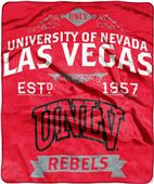 Northwest UNLV Label Raschel Throw