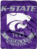 Northwest Kansas State Rebel Raschel Throw