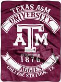 Northwest Texas A&M Rebel Raschel Throw