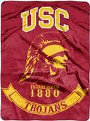 Northwest USC Rebel Raschel Throw