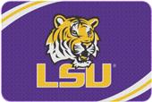 Northwest LSU Round Edge Bath Rug