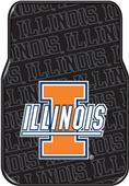 Northwest Illinois Car Floor Mats (set of 2)