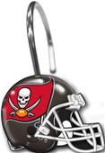 Northwest NFL Buccaneers Shower Curtain Rings