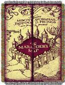 Northwest Marauders Map Woven Tapestry Throw