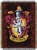 Northwest Gryffindor Crest Woven Tapestry Throw
