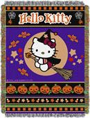 Northwest Witchy Kitty Woven Tapestry Throw