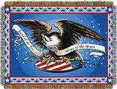 Northwest Memorial Day Woven Tapestry Throw