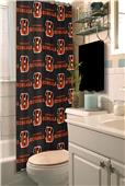 Northwest NFL Cincinnati Bengals Shower Curtain