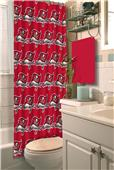 Northwest NFL Tampa Bay Buccaneers Shower Curtain