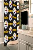 Northwest NFL Pittsburgh Steelers Shower Curtain