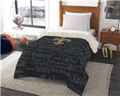 Northwest NFL New Orleans Anthem Twin Comforter