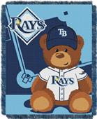 Northwest MLB Rays Field Bear Baby Throw
