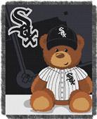 Northwest MLB White Sox Field Bear Baby Throw