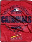 Northwest MLB Cardinals Structure Raschel Throw