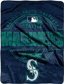 Northwest MLB Mariners Structure Raschel Throw