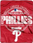 Northwest MLB Phillies Structure Raschel Throw