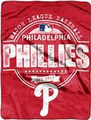 Northwest MLB Phillies Structure Raschel Throw