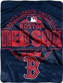 Northwest MLB Red Sox Structure Raschel Throw
