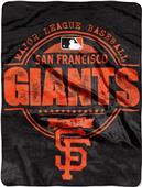 Northwest MLB Giants Structure Raschel Throw