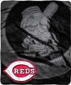 Northwest MLB Reds Retro Raschel Throw