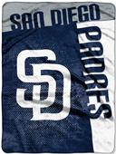 Northwest MLB Padres Strike Raschel Throw