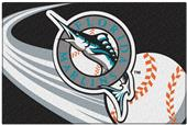 Northwest MLB Marlins Small Tufted Rug
