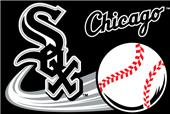 Northwest MLB White Sox Small Tufted Rug