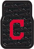 Northwest MLB Indians Car Floor Mat Set