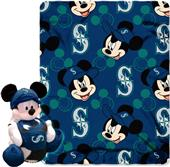 MLB Mariners Disney Mickey Hugger & Fleece Throw
