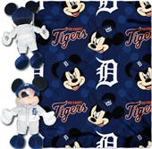 MLB Tigers Disney Mickey Hugger & Fleece Throw