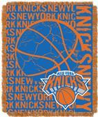 NBA Knicks Double Play Woven Jacquard Throw