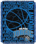 NBA Magic Double Play Woven Jacquard Throw