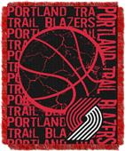 NBA Trail Blazers Double Play Woven Jacquard Throw