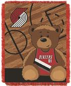 Northwest NBA Portland Baby Woven Jacquard Throw