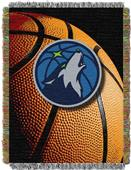 Northwest NBA Minnesota Photo Real Tapestry Throw