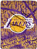 Northwest NBA Lakers Redux Micro Raschel Throw