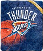 Northwest NBA Thunder Reflect Sherpa Throw
