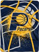 Northwest NBA Pacers Shadow Play Raschel Throw