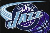 Northwest NBA Jazz Small Tufted Rug