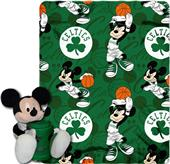 NBA Celtics Disney Mickey Hugger & Fleece Throw