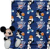 NBA Thunder Disney Mickey Hugger & Fleece Throw