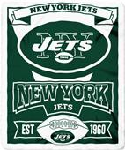 Northwest NFL Jets Marquee Fleece Throw
