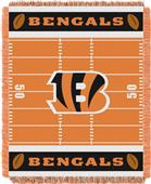 Northwest NFL Bengals Field Baby Woven Throw