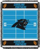 Northwest NFL Panthers Field Baby Woven Throw