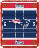Northwest NFL Patriots Field Baby Woven Throw