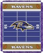 Northwest NFL Ravens Field Baby Woven Throw