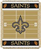 Northwest NFL Saints Field Baby Woven Throw