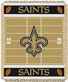 Northwest NFL Saints Field Baby Woven Throw