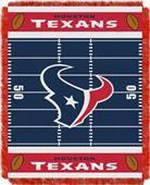 Northwest NFL Texans Field Baby Woven Throw